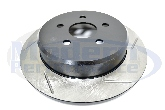 StopTech Slotted Rotors (Rear Pair), 95-05 Neon / 01-10 PT Cruiser