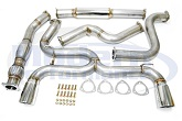 MPx Dual Exit Exhaust System w/ Cat Downpipe, 03-05 Neon SRT-4