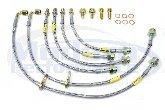 Goodridge Stainless Steel Brake Line kit, 08-09 Caliber SRT-4