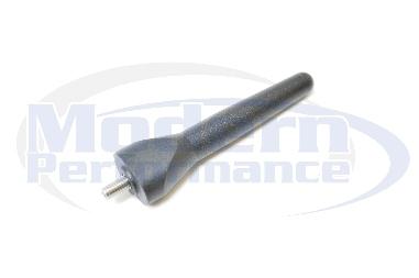 MPx Matte Black Shorty Antenna, 2012-16 Fiat 500