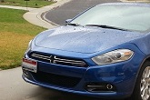 Grimmspeed License Plate Relocation Kit, 2013-16 Dart