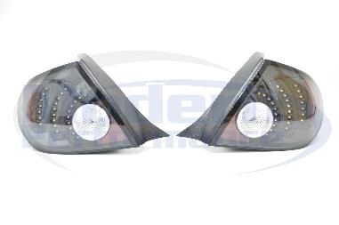 DEPO LED Tail Lights (Chrome or Black), 03-05 Neon
