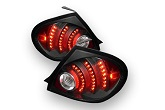 DEPO LED Black Tail Lights , 03-05 Neon / SRT-4