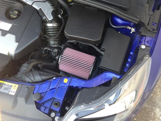 K&N Drop-In Air Filter, 2013-18 Focus ST/16-17 Focus RS ...