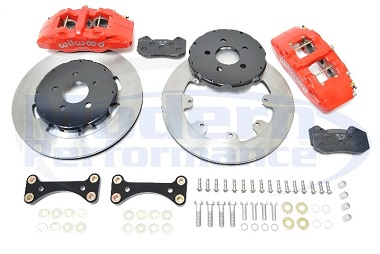 Wilwood 6-Piston Big Brake Kit, 03-05 Neon SRT-4 / 01-10 PT Cruiser