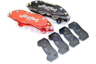 Wilwood 6-Piston Caliper Set w/ Brake Pads, 03-05 Neon SRT-4 / 01-10 PT Cruiser