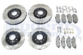 Mopar Performance Front & Rear Brake Upgrade Kit, 2013-16 Dart