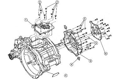 srt4 belt diagram t 850 case components  2 of 3   04 05 neon srt 4  transmission  neon srt 4