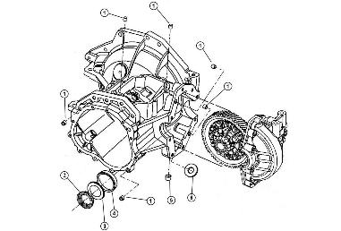 t-850 case components (3 of 3), 04-05 neon srt