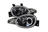 LED Halo Projector Headlights, 95-99 Neon