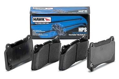 Hawk HPS Rear Brake Pads, 2012-19 Chevrolet Sonic 1.4L Turbo