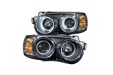 Anzo Halo Projector Headlights, 12-15 Chevrolet Sonic
