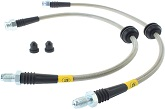 StopTech Stainless Steel Brake Lines (Rear), 2013-18 Focus ST/16-18 Focus RS