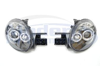 Version 1 LED Halo Projector Headlights, 03-05 Neon SRT-4