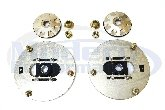 BC Coilover Rear Camber Plates, 00-05 Neon / 03-05 Neon SRT-4