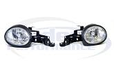 Euro Diamond Headlights PLUS front turn signals, 95-99 Neon