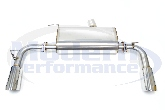 MPx Dual Exit Rear Section Exhaust, 08-09 Caliber SRT-4