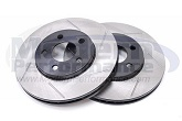 StopTech Slotted Rotors (Front Pair), 00-05 Neon