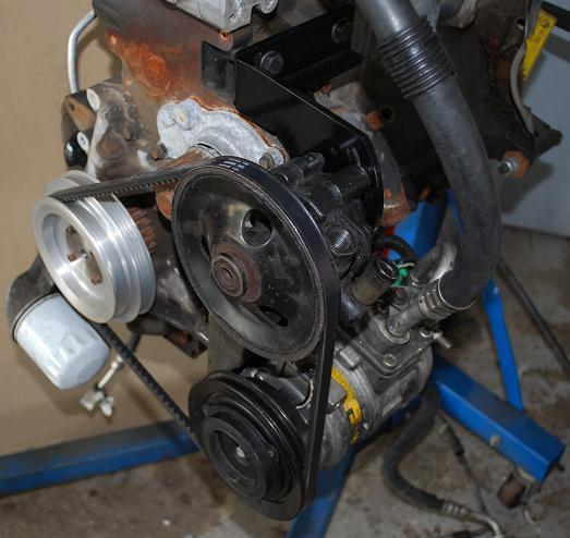 Mpx 2 4l Engine Swap Power Steering Bracket Engine Mounts Adapters