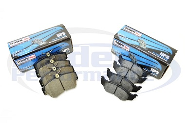 Hawk HPS Front & Rear Brake Pad Package, 03-05 Neon SRT-4 / 01-10 PT Cruiser