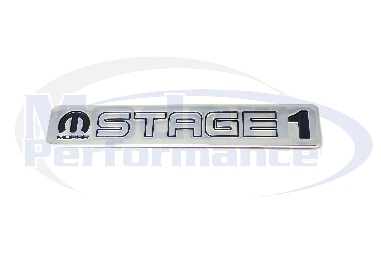 Mopar Stage 1 Badge, 03-05 Neon SRT-4 / 08-09 Caliber SRT-4
