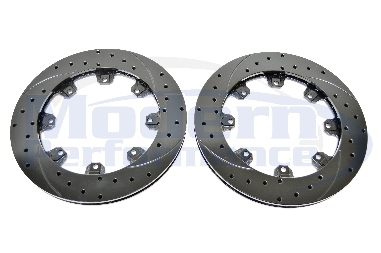 Wilwood Big Brake Kit Replacement Drilled & Slotted Rotors (Pair), 03-05 Neon SRT-4