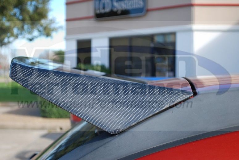 Cbd Carbon Fiber Roof Spoiler Now In Stock For Caliber