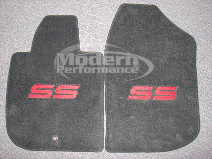 gm officially licensed ss logo floor mats 05 10 cobalt ss. Black Bedroom Furniture Sets. Home Design Ideas