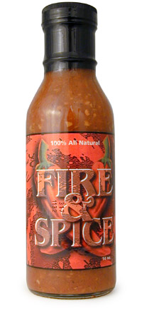 Fire & Spice All Natural Hot Sauce