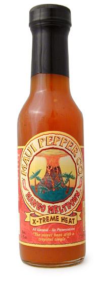 Tahiti Joe's Maui Pepper Mango X-treme Heat Hot Sauce