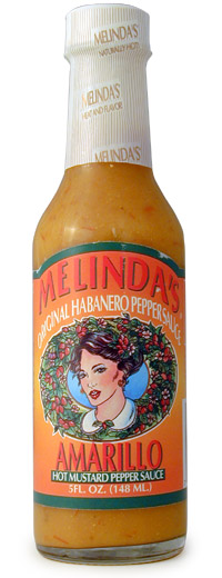 Melinda's Amarillo Hot Mustard Pepper Sauce