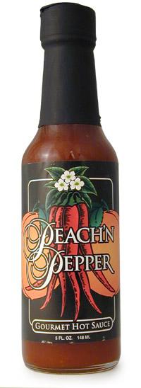 Peach'n Pepper Hot Sauce