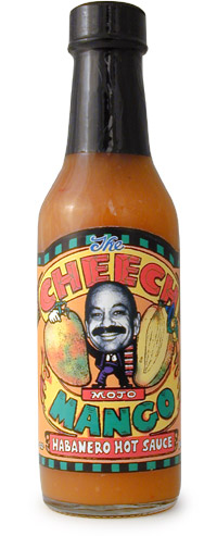 Cheech Mojo Mango Habanero Hot Sauce