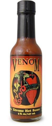Venom Xtreme Hot Sauce
