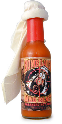Bomb Laden Mad Blast Habanero Hot Sauce