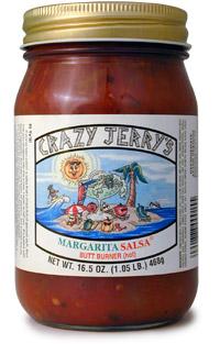 "Crazy Jerry's Margarita ""Butt Burner"" Salsa"