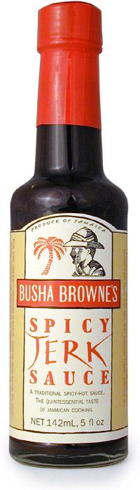 Busha Browne's Spicy Jerk Sauce