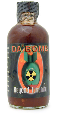 Da' Bomb Beyond Insanity Hot Sauce Extract