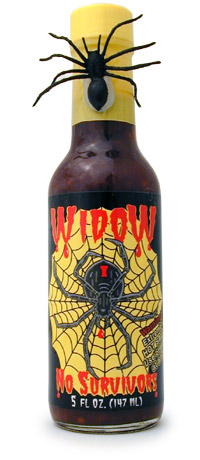 Widow-No Survivors Hot Sauce