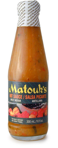 Matouk's West Indian Salsa Picante  Hot Sauce