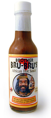 Brother Bru Bru's African Hot Sauce