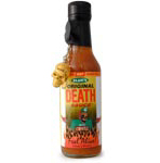 "Blair's ""Original"" Death Hot Sauce with Skull Key Chain"