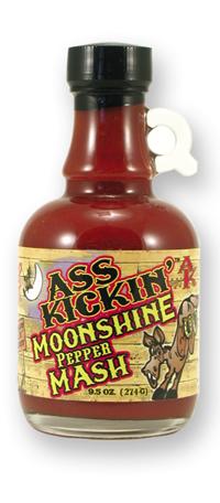 Ass Kickin' Moonshine Pepper Mash