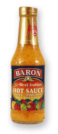 Barons West Indian Hot Sauce