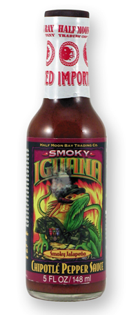 Iguana Smoky Chipotle Pepper Hot Sauce