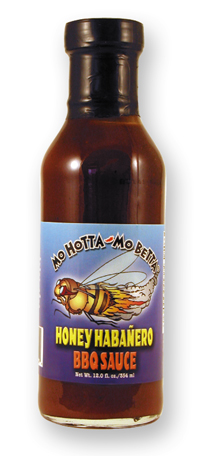 Mo Hotta Mo Betta Honey n Habanero BBQ Sauce