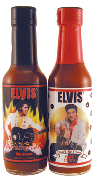 Elvis' Hot Sauce Collection