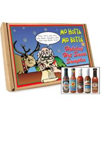 Happy Holidays Hot Sauce Gift Set