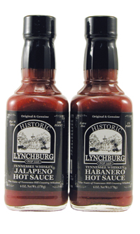 Historic Lynchburg Tennessee  Whiskey Hot Sauce