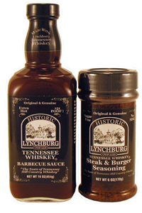 Historic Lynchburg Tennessee Whiskey BBQ Sauces & Rub